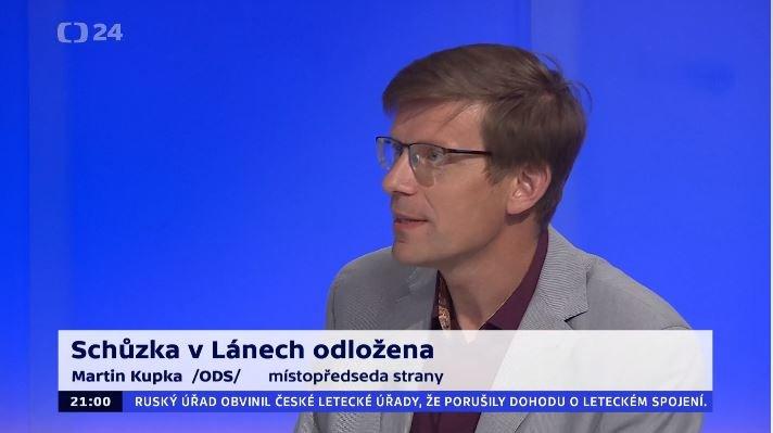 90' ČT24 – Spor o ministra kultury