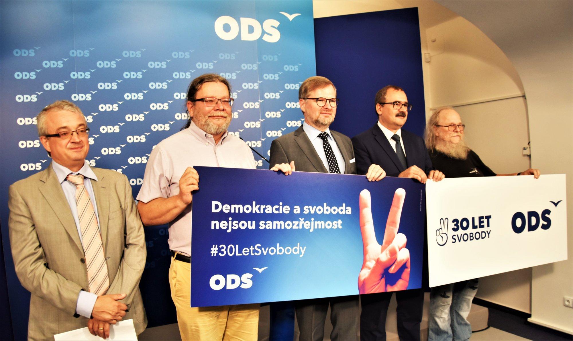 ODS: Zpochybňování hodnot listopadu 1989 nesmíme dopustit, startujeme kampaň 30 let svobody