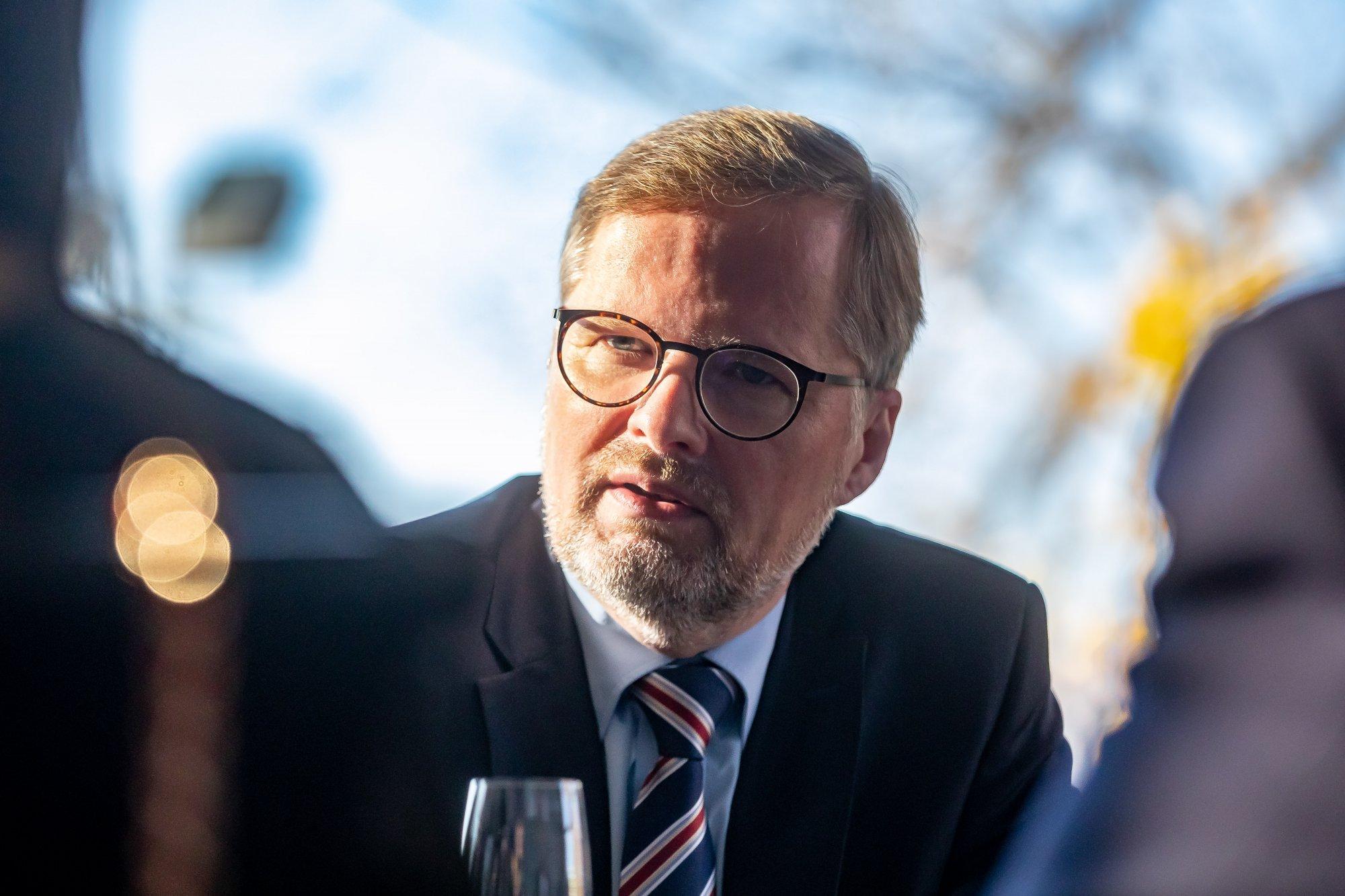 Petr Fiala: Dvacet minut Radiožurnálu: Je důležité, aby lidé slyšeli, že právo platí pro všechny
