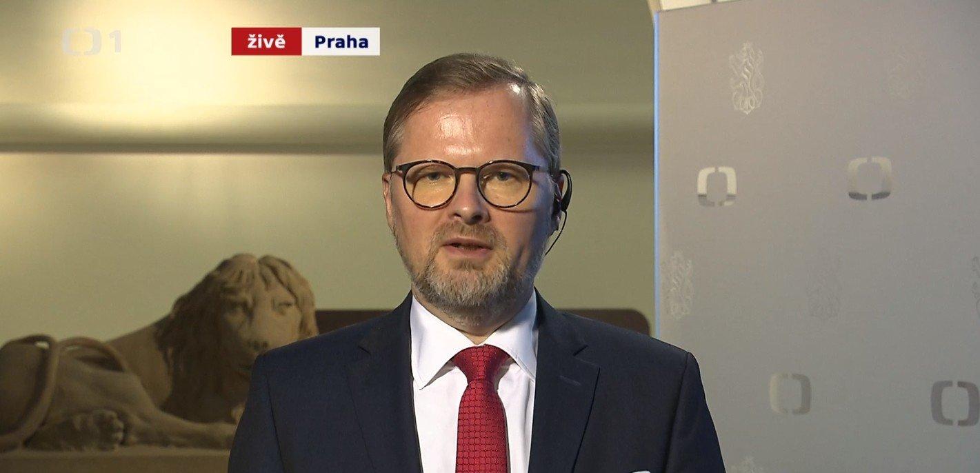 Petr Fiala: Události ČT: Opozice kritizuje prezidenta kvůli abolici