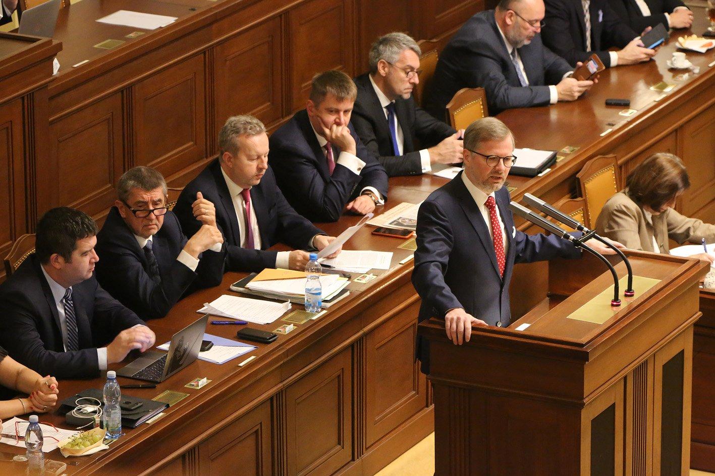 Petr Fiala: Projev na jednání Poslanecké sněmovny o ústavní žalobě na prezidenta ČR