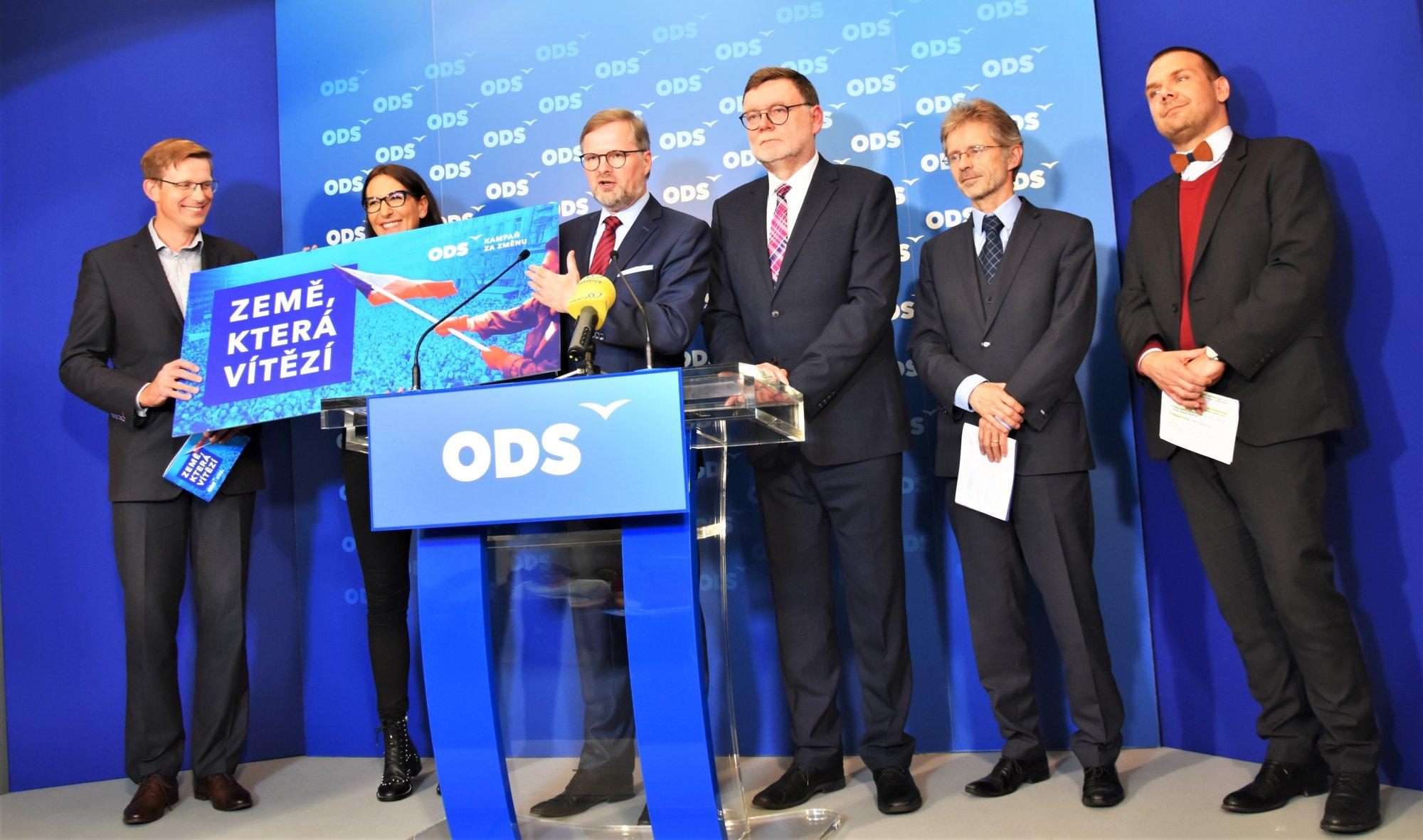 Petr Fiala: ČR musí být země, která vítězí, představujeme kampaň za změnu
