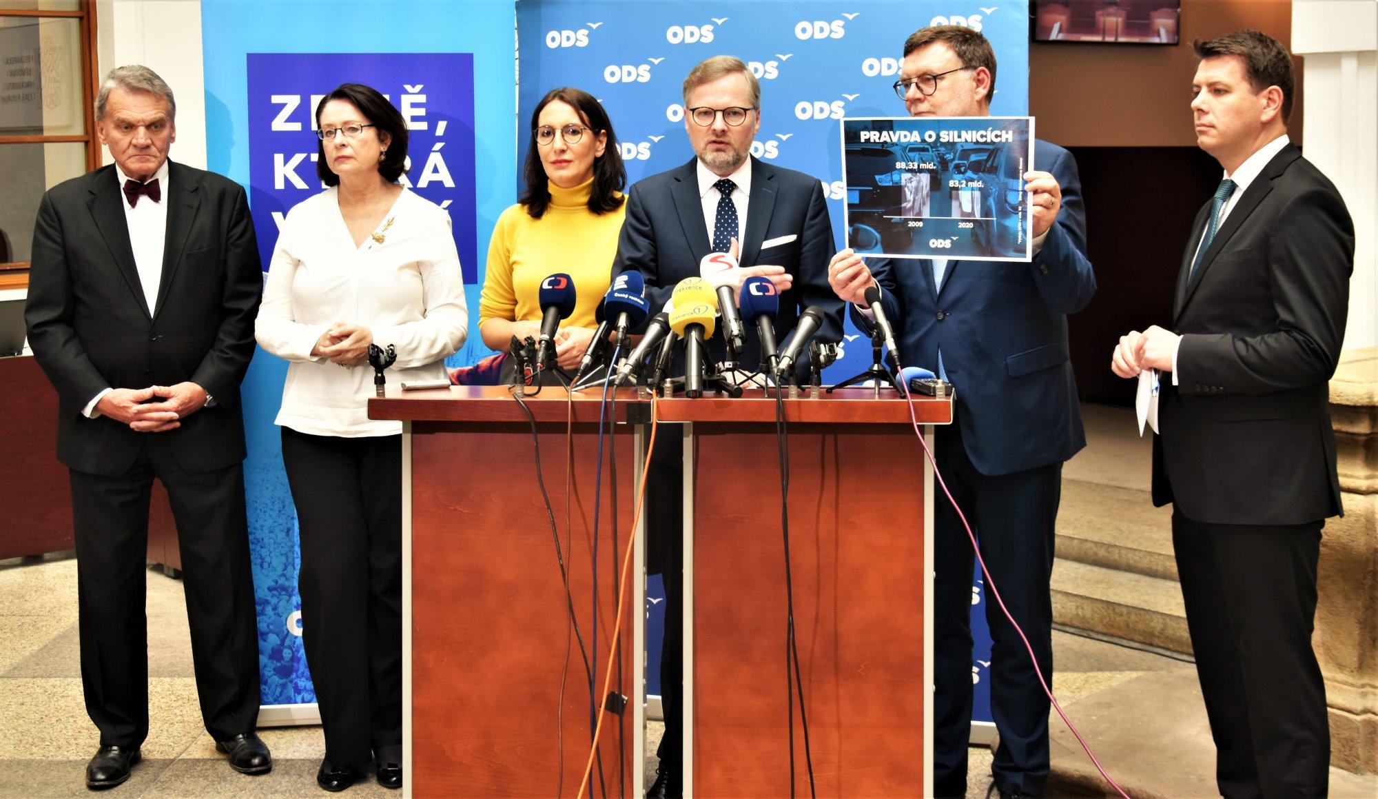 ODS: Vláda předkládá Sněmovně rozpočtově-kriminální trestný čin