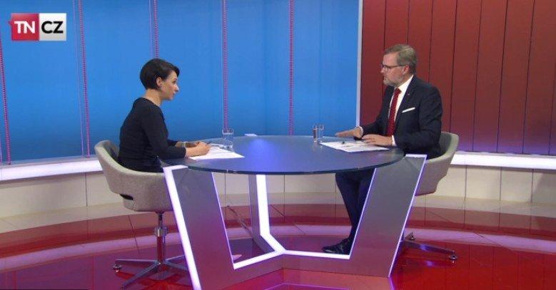 Petr Fiala: Napřímo TN.cz: Vláda neumí hospodařit a šidí občany, hlavně mladé