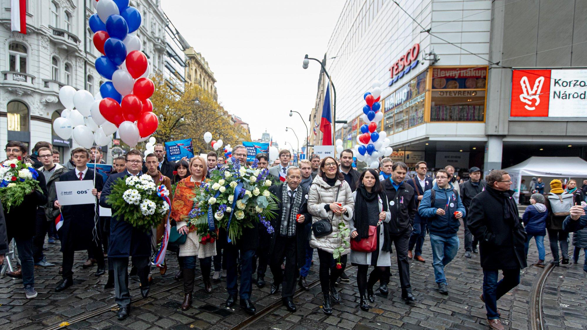 ODS: Svoboda není samozřejmost. Oslavy pádu komunistického režimu jsou každým rokem důležitější