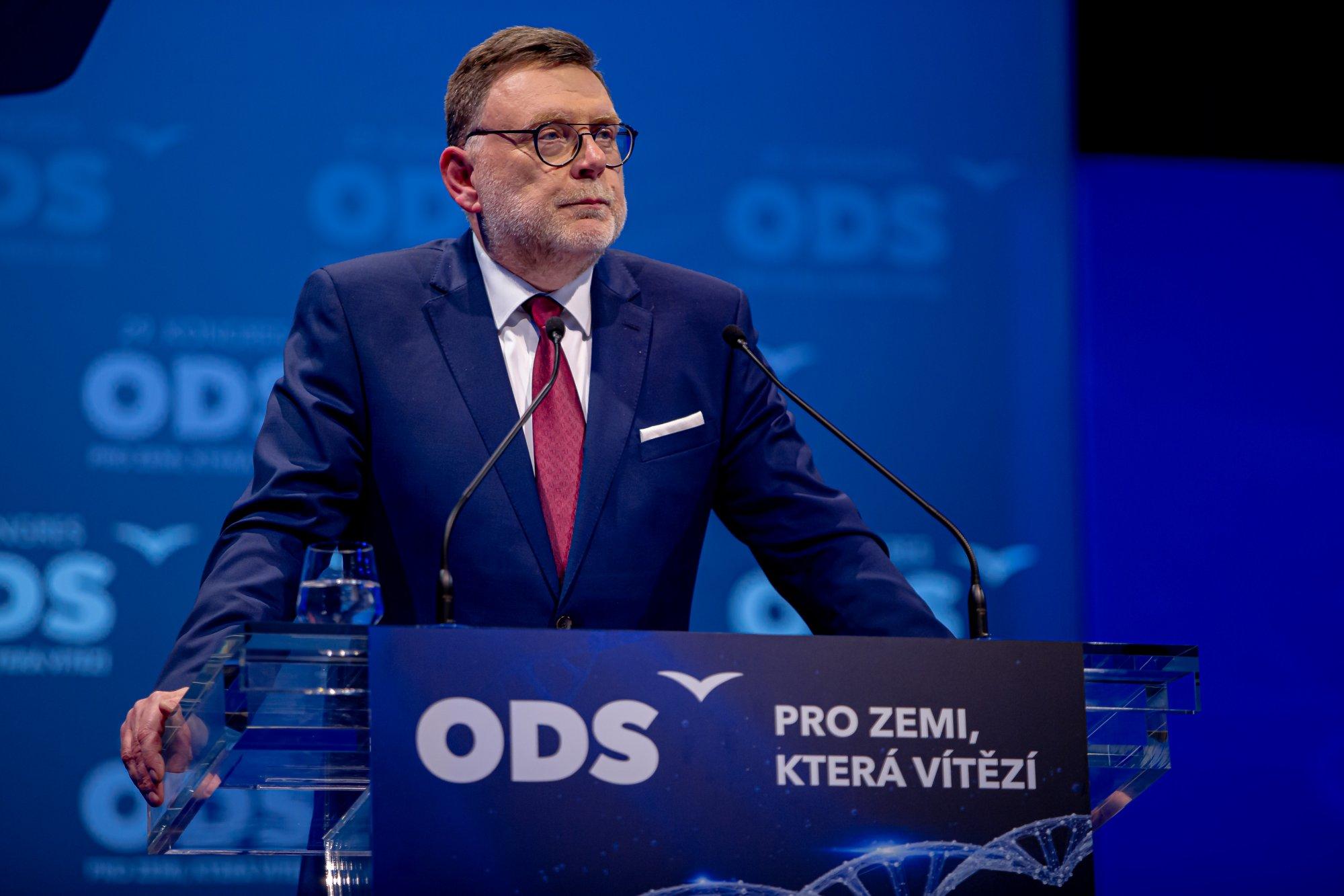 Nominační projev před volbou 1. místopředsedy