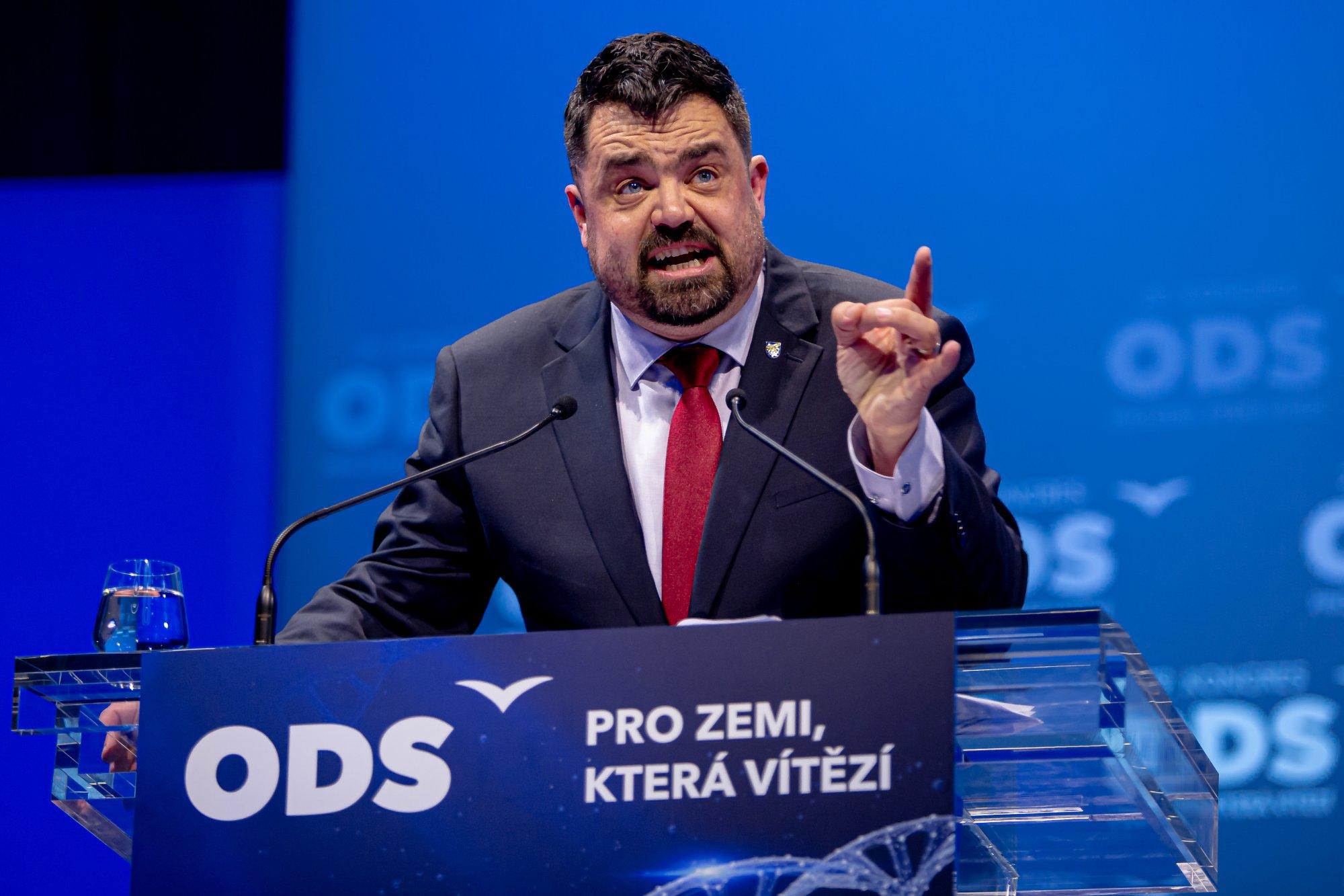 Projev před volbou místopředsedů