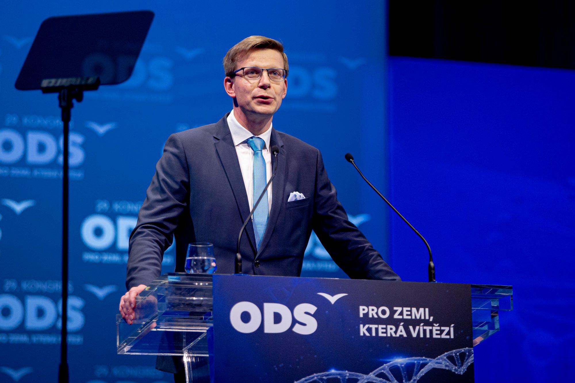 Nominační projev před volbou místopředsedů