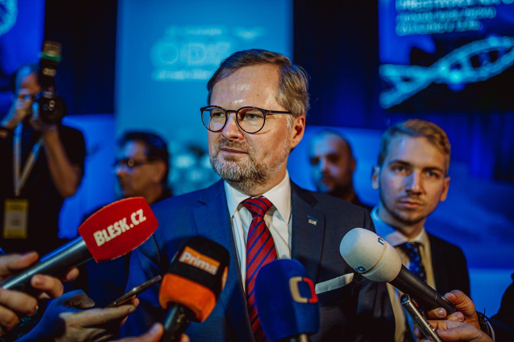 Petr Fiala: Dvacet minut Radiožurnálu: Nabízíme lidem změnu české politiky a já chci být jejím lídrem