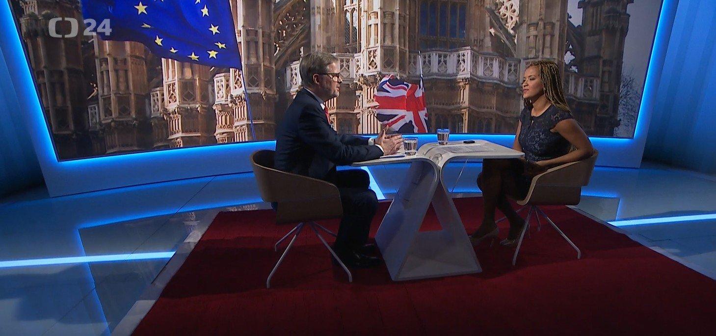 Petr Fiala: Interview ČT24: Odchod Británie je velkou krizí evropského integračního procesu