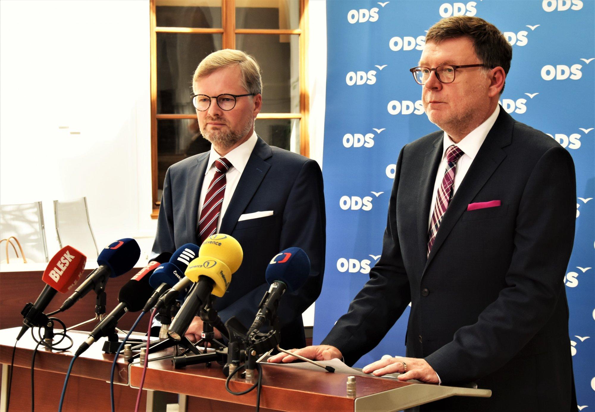 ODS: Hnutí ANO odmítlo udělat pořádek na ministerstvu dopravy