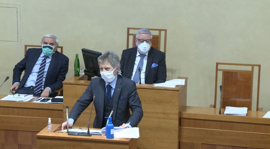 Projev předsedy Senátu Miloše Vystrčila k otázce nouzového stavu v ČR