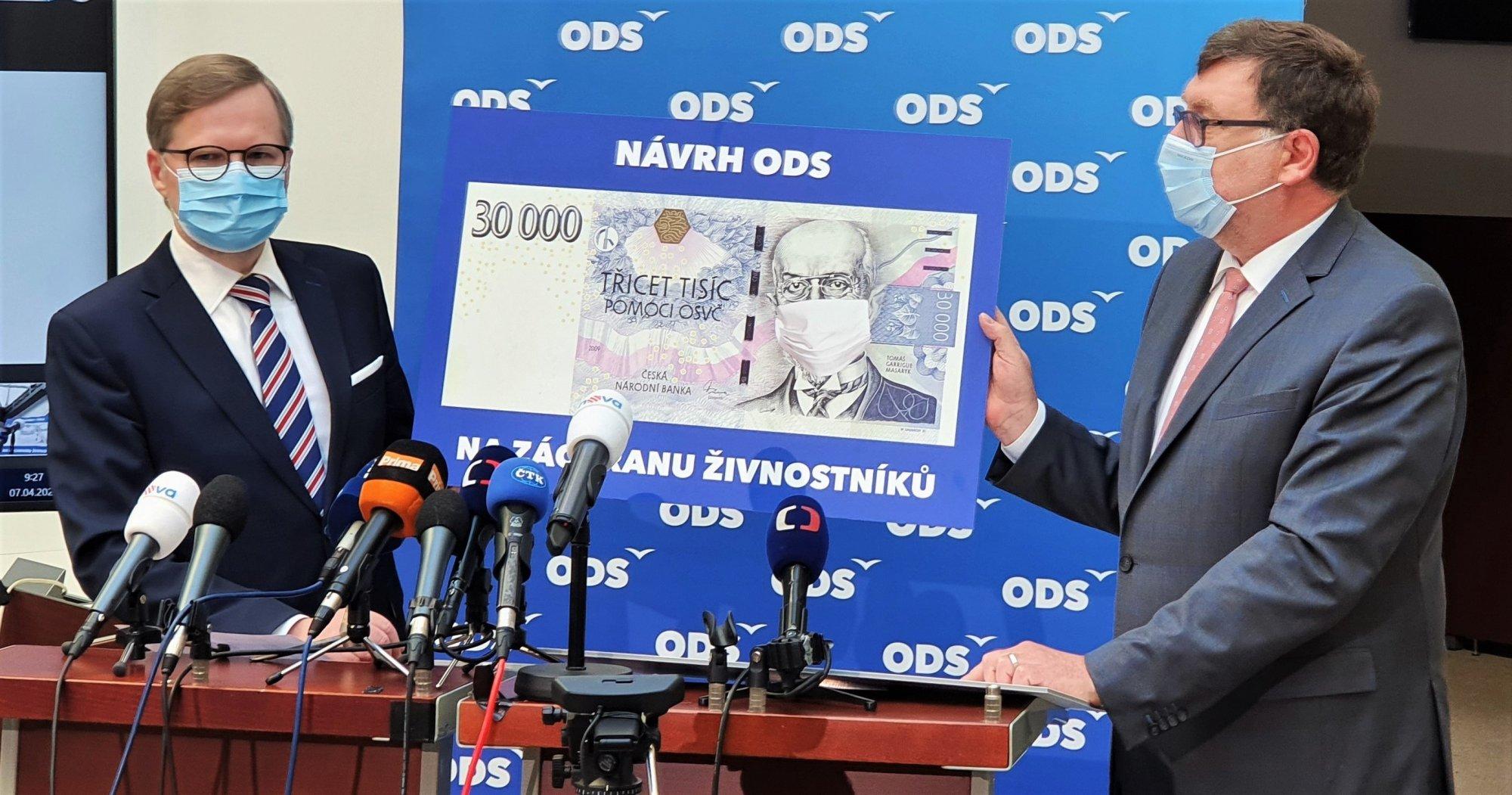 ODS: Období bianco šeku skončilo, vláda musí rychle představit plán restartu země