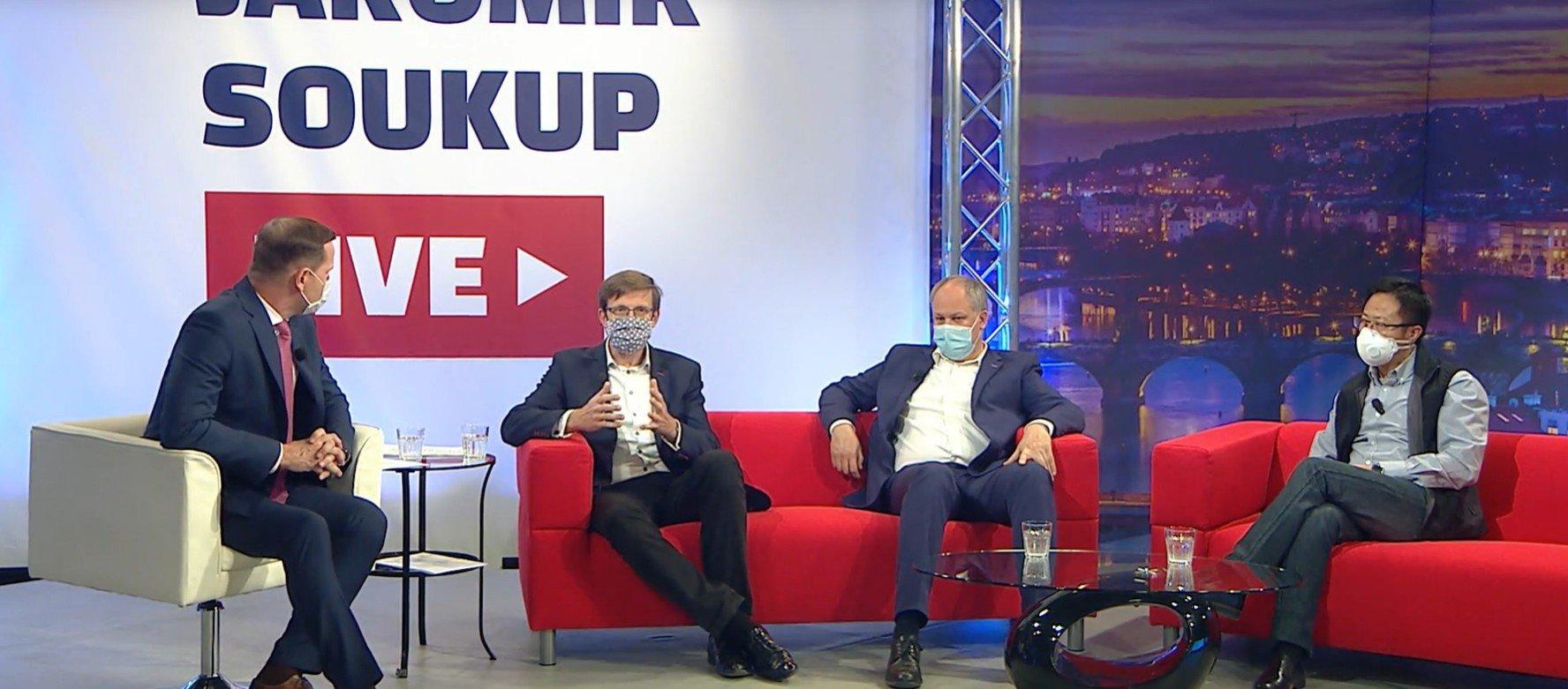 TV Barrandov: Prosazujeme plošnou podporu pro živnostníky bez zbytečné byrokracie