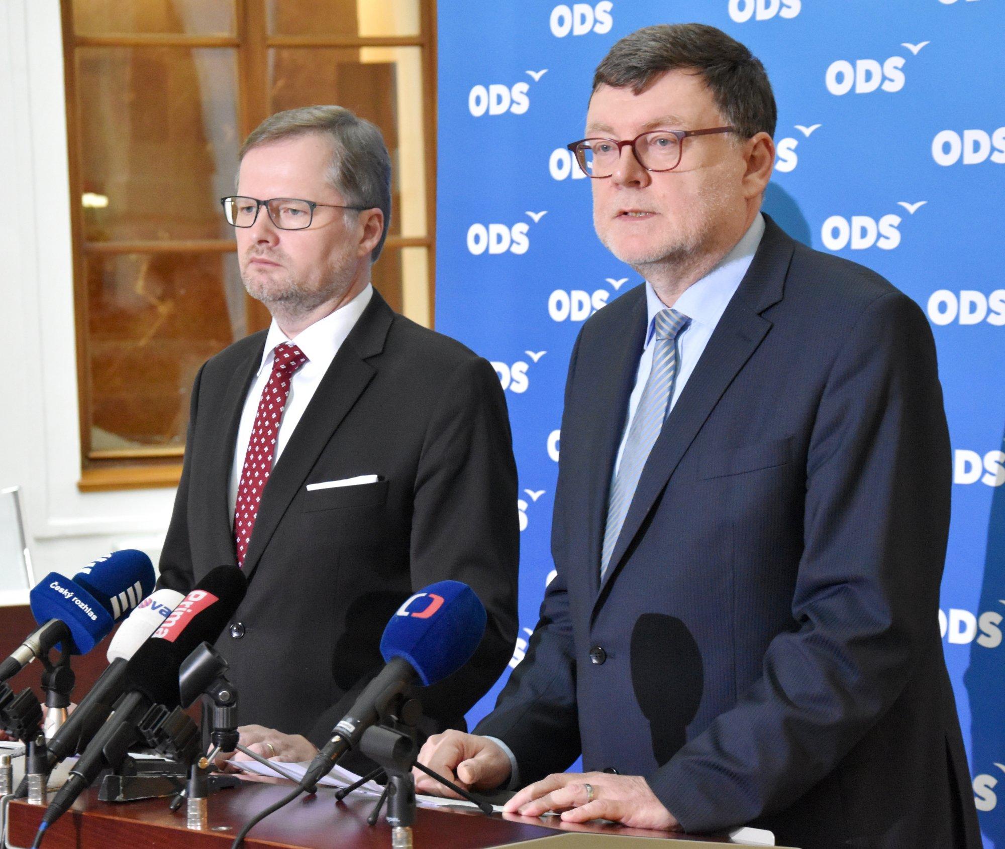 ODS apeluje na rozšíření ekonomické pomoci