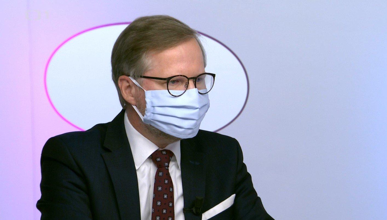 Petr Fiala: Otázky Václava Moravce