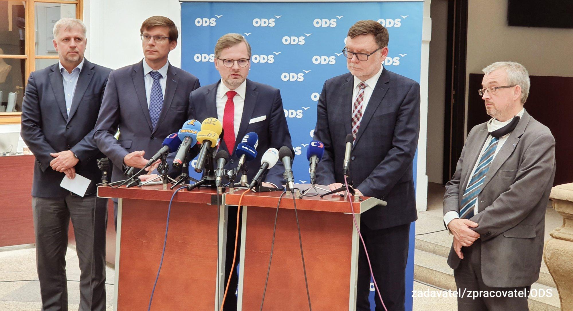 ODS: Česká republika se musí znovu postavit na nohy
