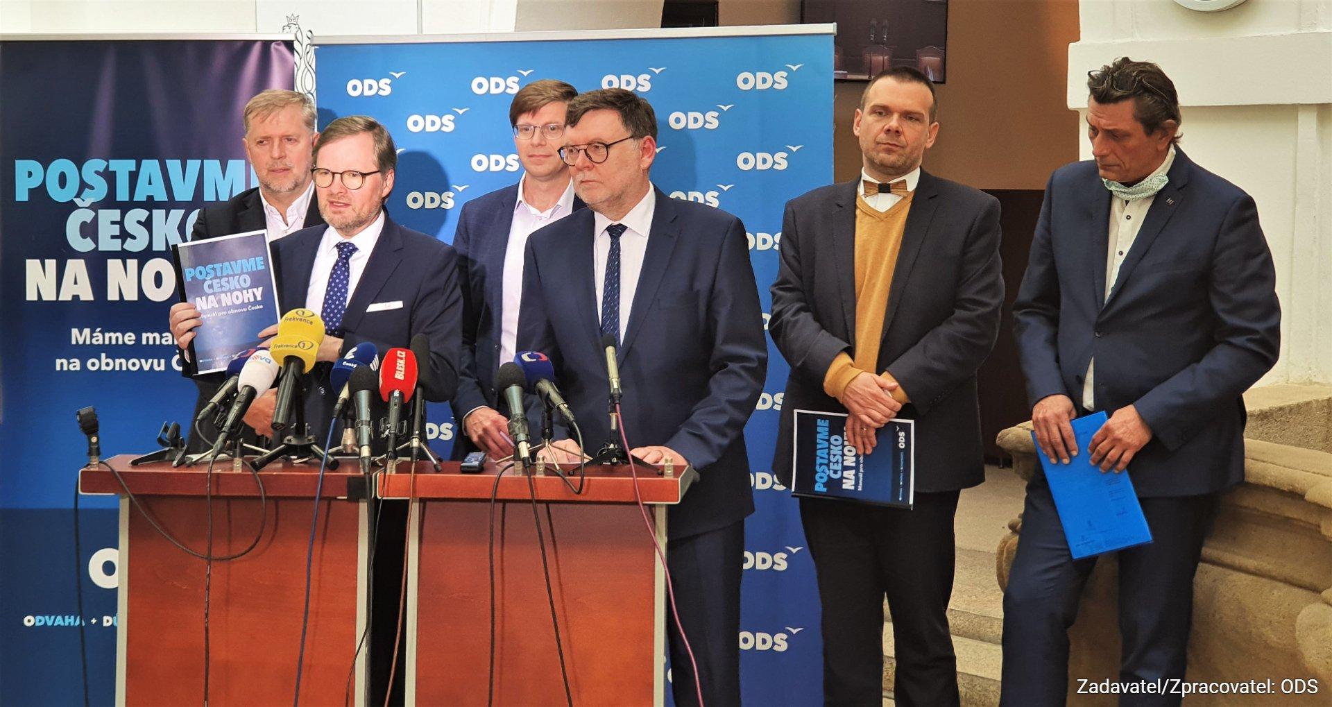 ODS: Postavme Česko na nohy! Máme manuál pro obnovu Česka