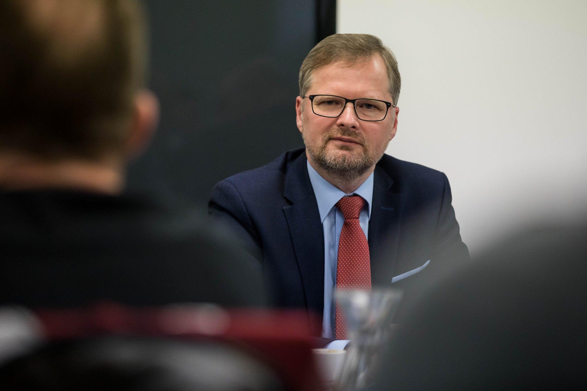 Petr Fiala: Stojíme za Milošem Vystrčilem. Nejsme v normální situaci. Cesta na Tchaj-wan je nutná
