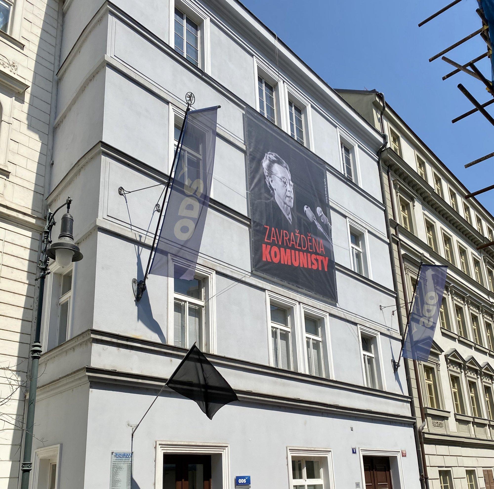 Občanští demokraté uctili památku Milady Horákové