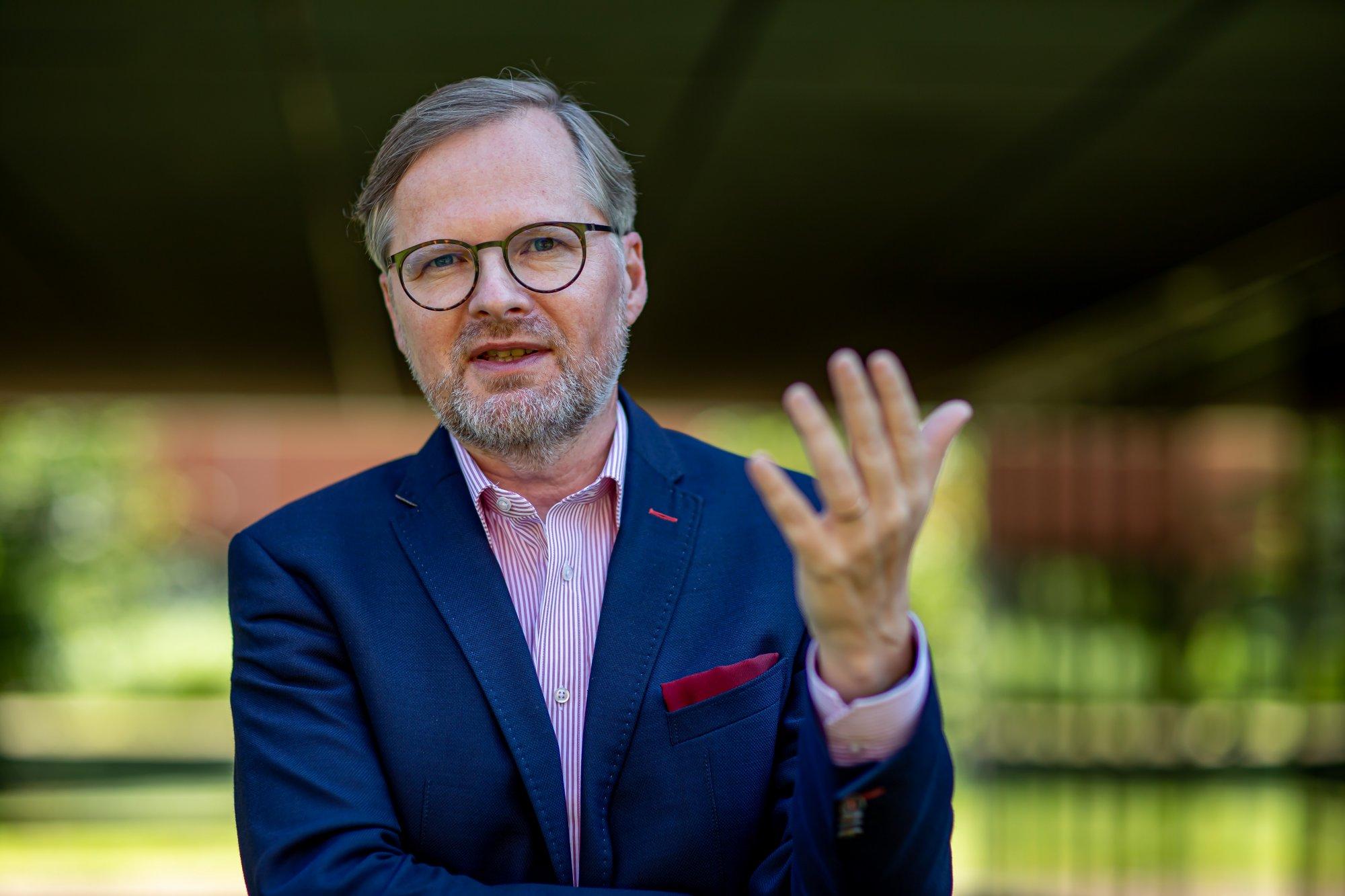 Petr Fiala: Volební právo nesmí být omezeno, vládní chaos musí skončit