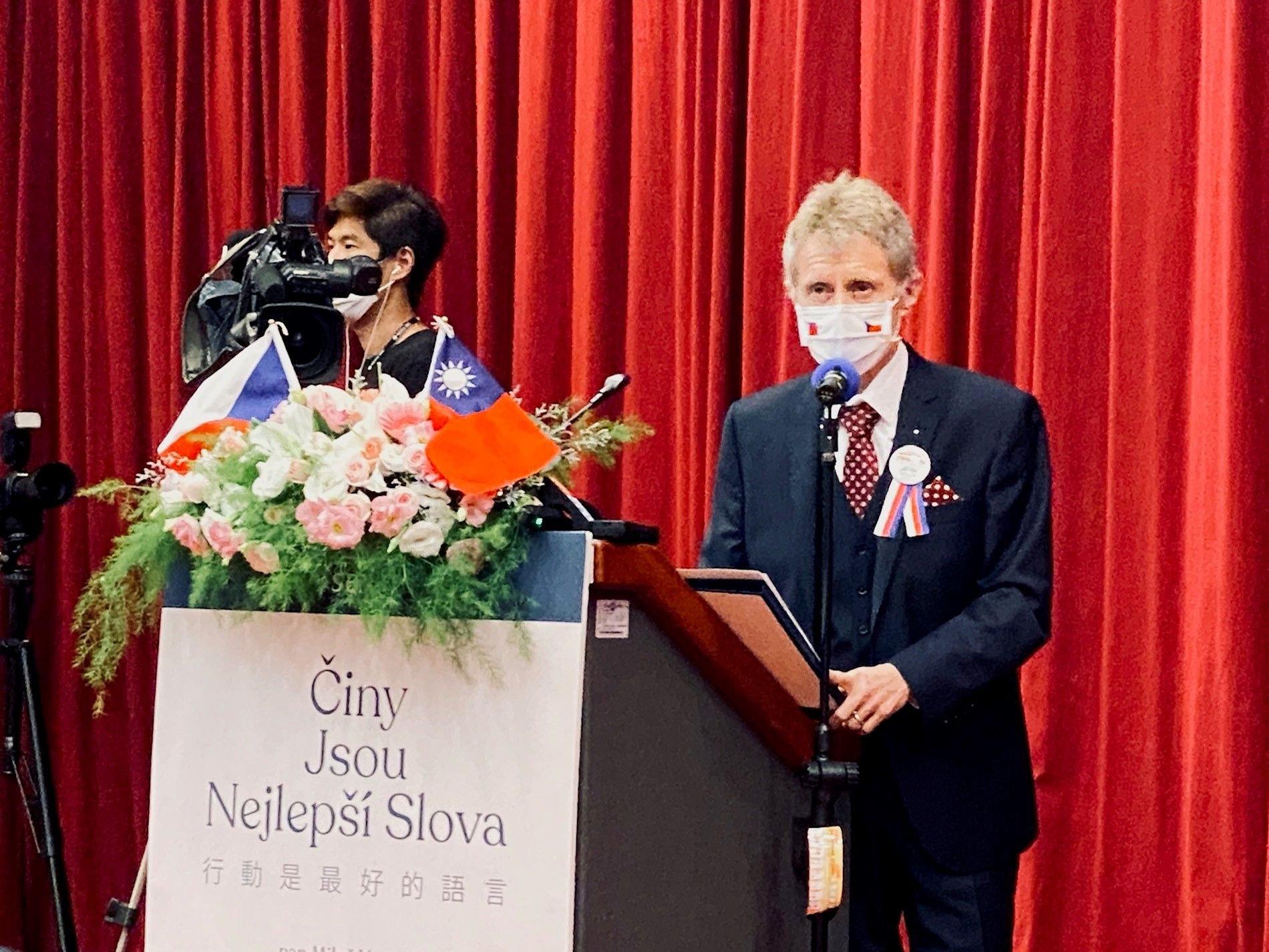 Projev předsedy Senátu na Národní univerzitě Chengchi: Nejlepší slova jsou činy