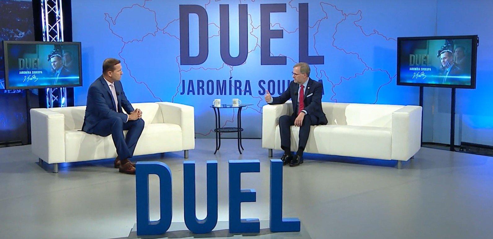 Petr Fiala: Duel Jaromíra Soukupa