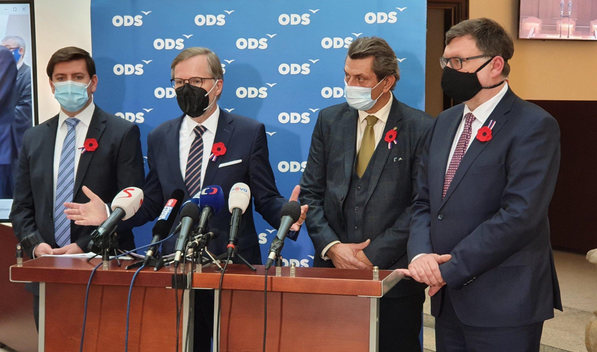 ODS: Návrh rozpočtu na příští rok je cár papíru, který nemůžeme podpořit