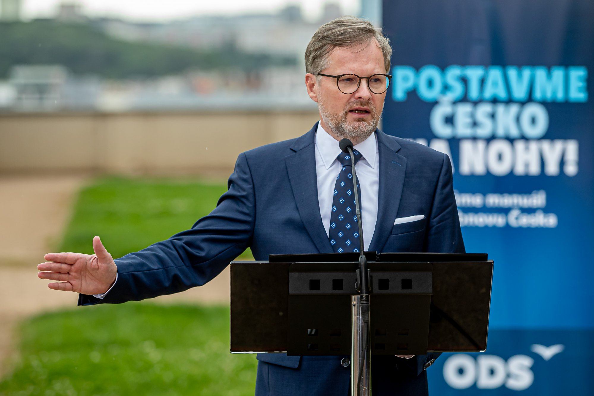 Petr Fiala: Pád Babiše, úřednická vláda a na jaře předčasné volby
