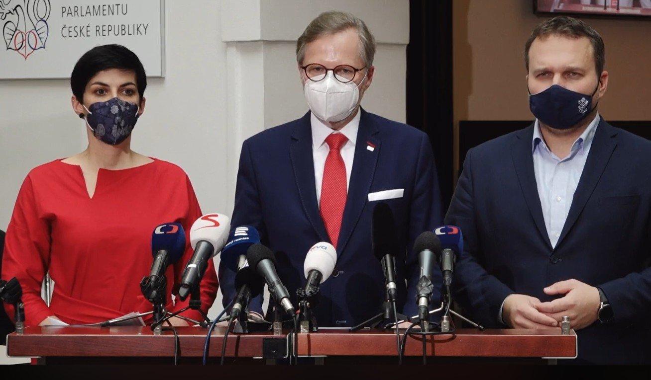 ODS, KDU-ČSL a TOP 09 vytvořily AntiCovid tým a společně předložily podmínky pro prodloužení nouzového stavu