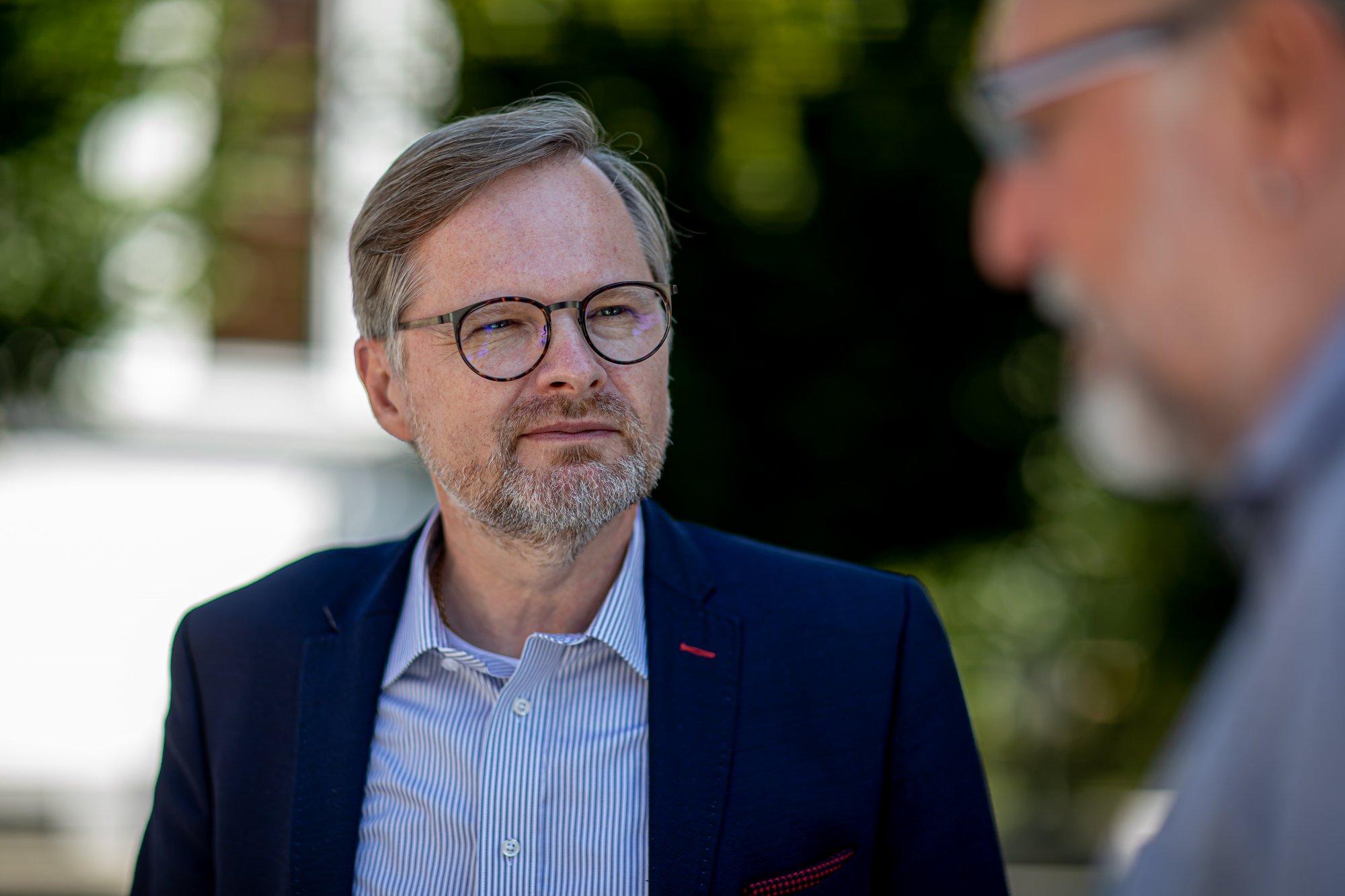 Petr Fiala: Ke snížení daní: Bude to tlak na vlády, aby braly vážně krocení výdajů. Koalice s ANO je vyloučená