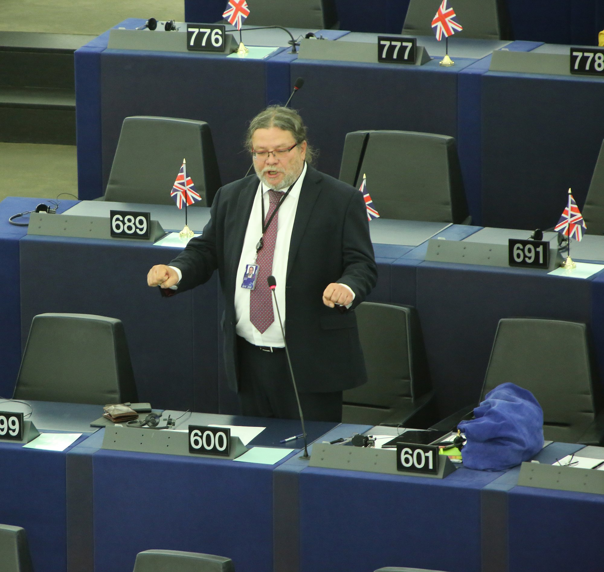 Olovo v Evropském parlamentu