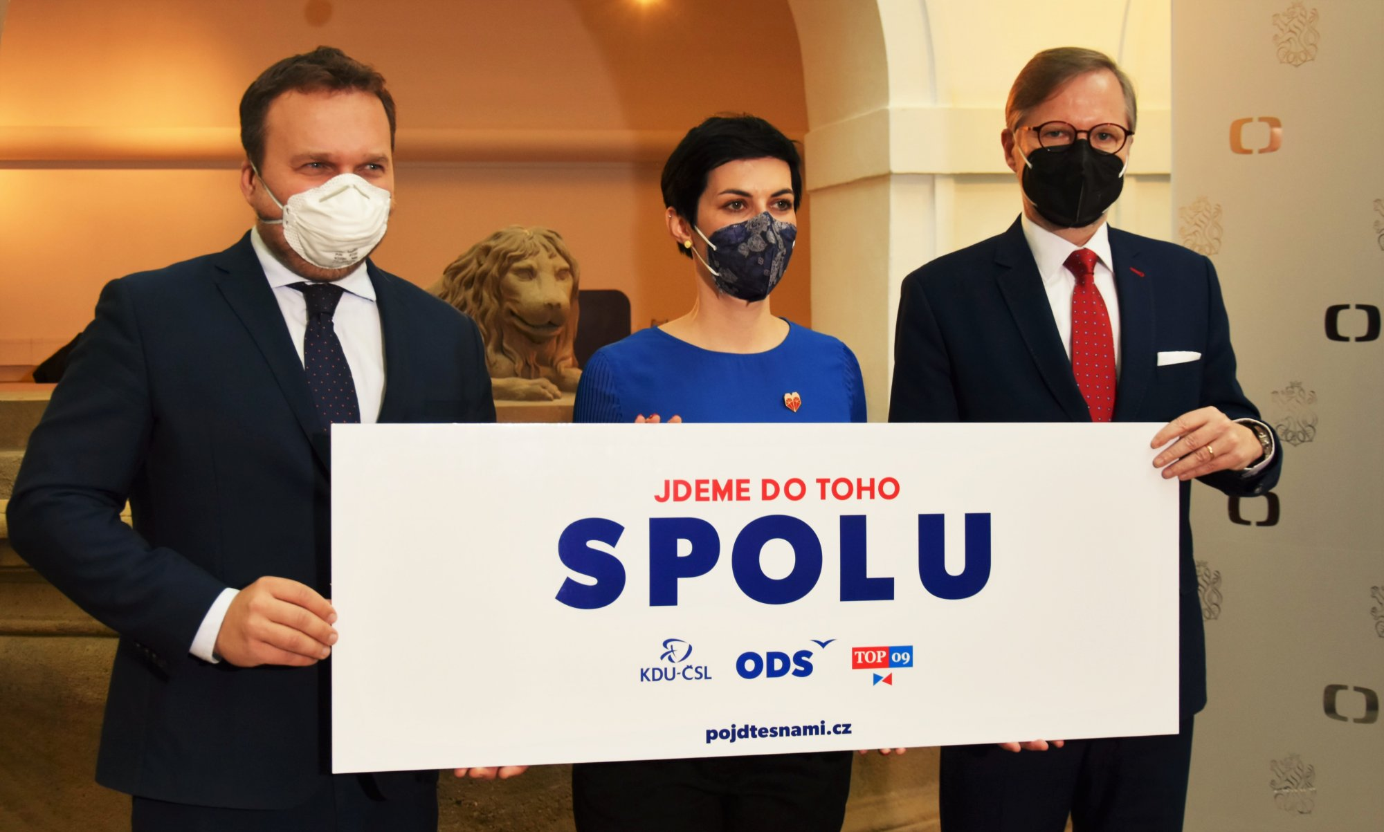 ODS, KDU-ČSL a TOP 09 jdou do toho SPOLU a vyzývají občany: Pojďte s námi!