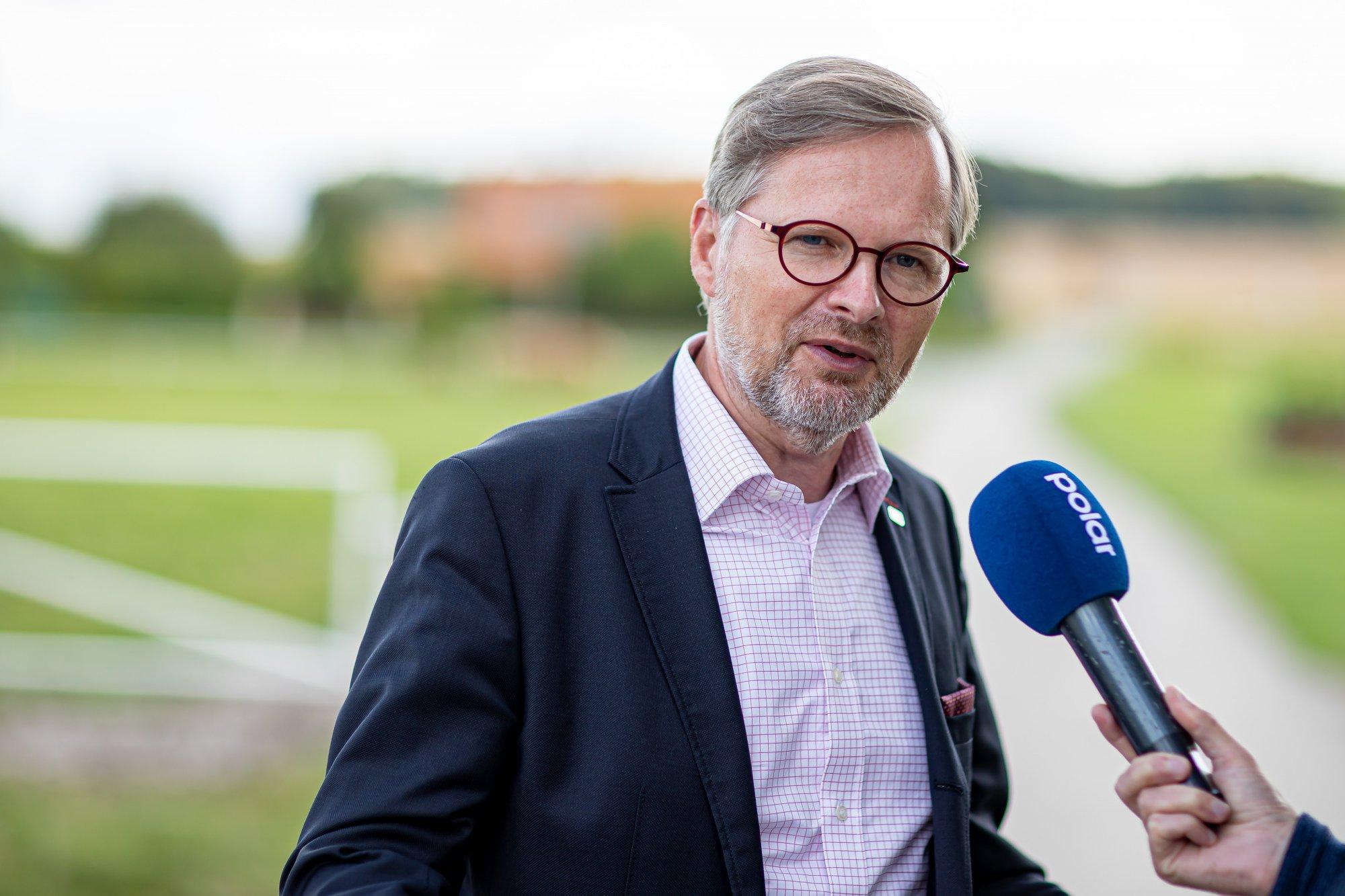 Petr Fiala: Rádio Z: Interview Martina Kováře