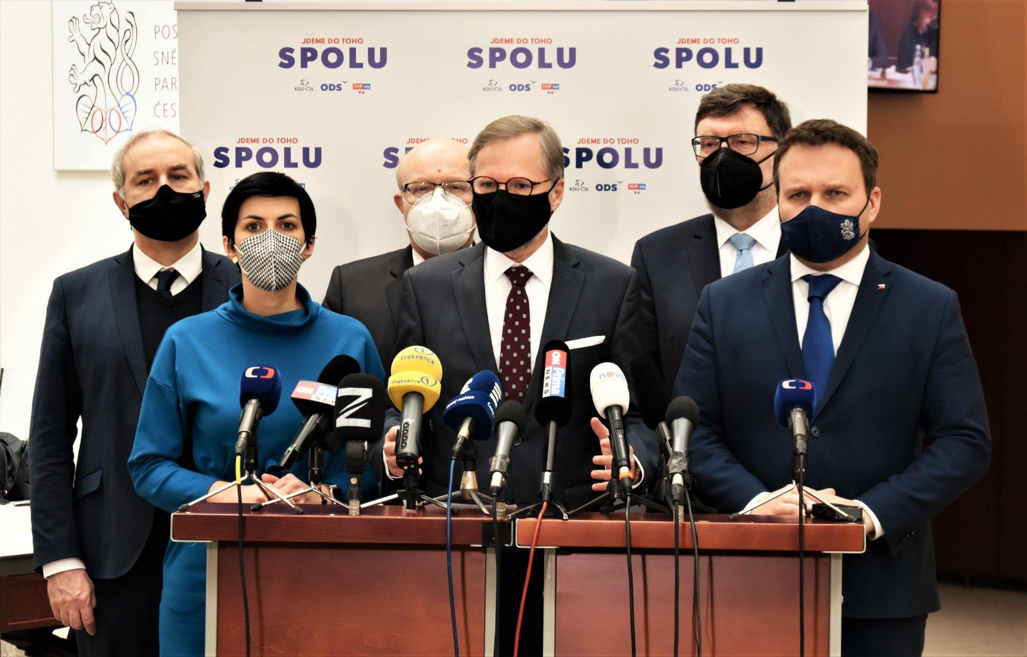 SPOLU: Máme plán na řešení pandemie po skončení nouzového stavu
