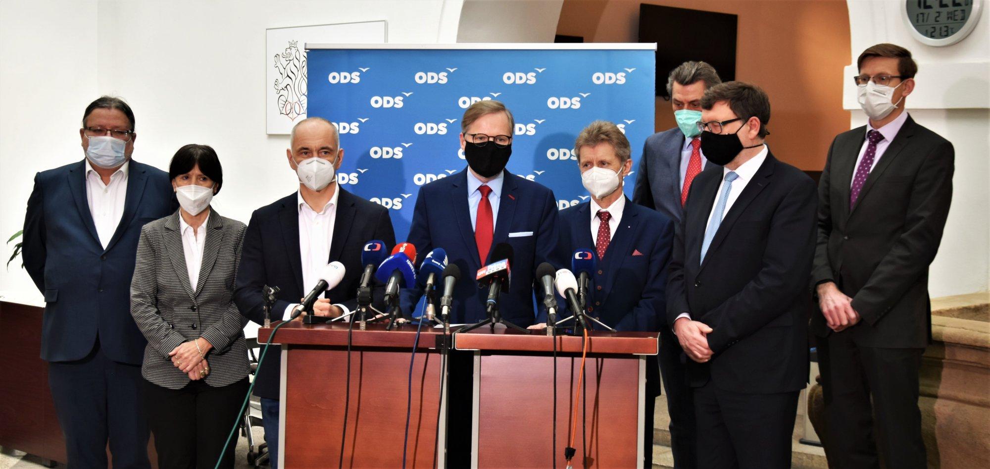 ODS: Zrušení nouzového stavu otevřelo prostor k jednání, s neústavností jeho opětovného vyhlášení se nesmíříme