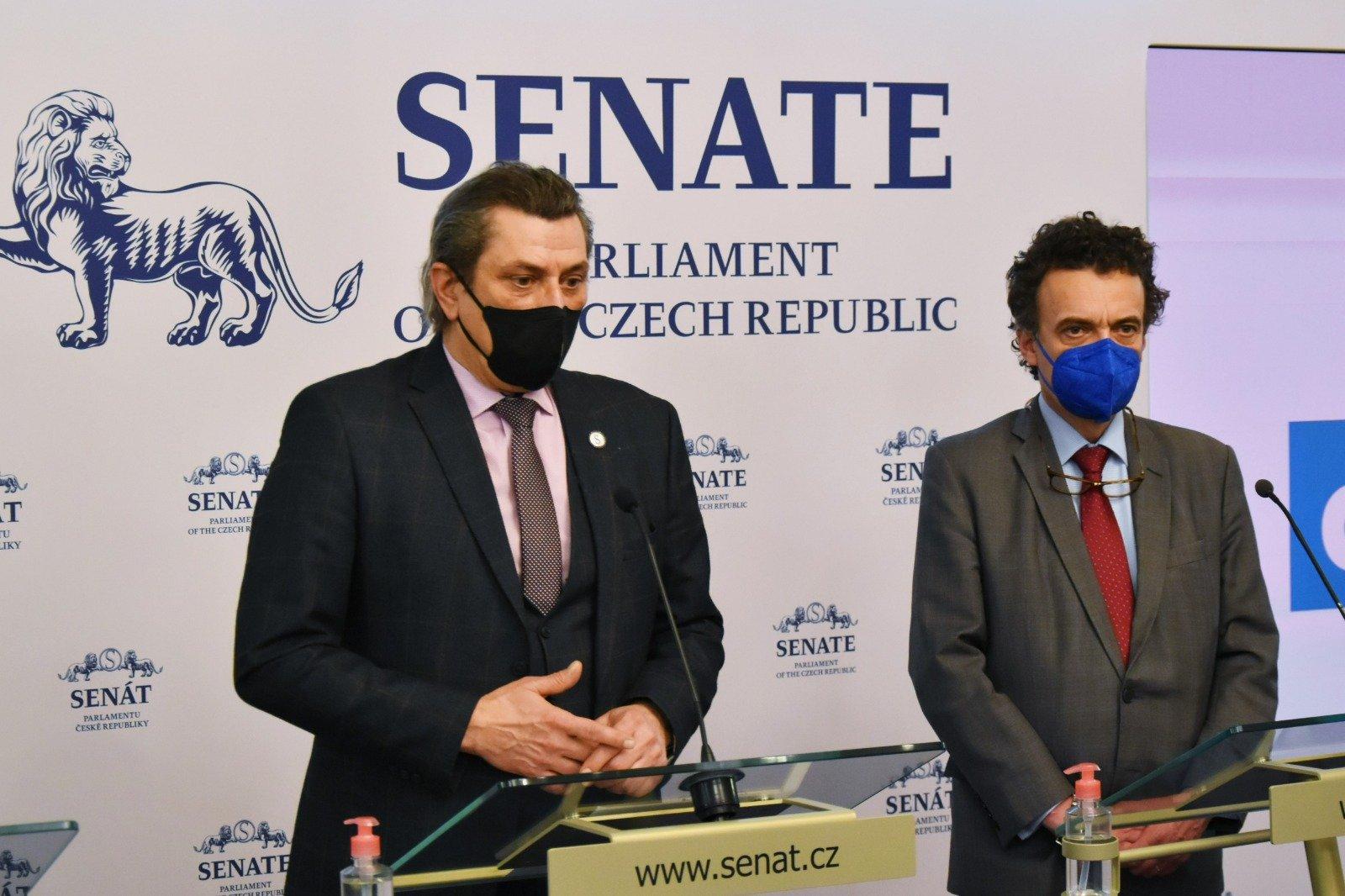 Senátorský klub ODS a TOP 09: Pandemický zákon projednáme. Naším cílem je jeho schválení s minimálními úpravami