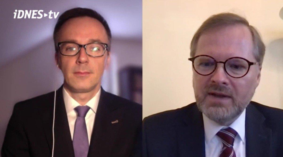 Petr Fiala: iDNES.cz: Odmítáme vládnout s KSČM, SPD i s Babišovým ANO