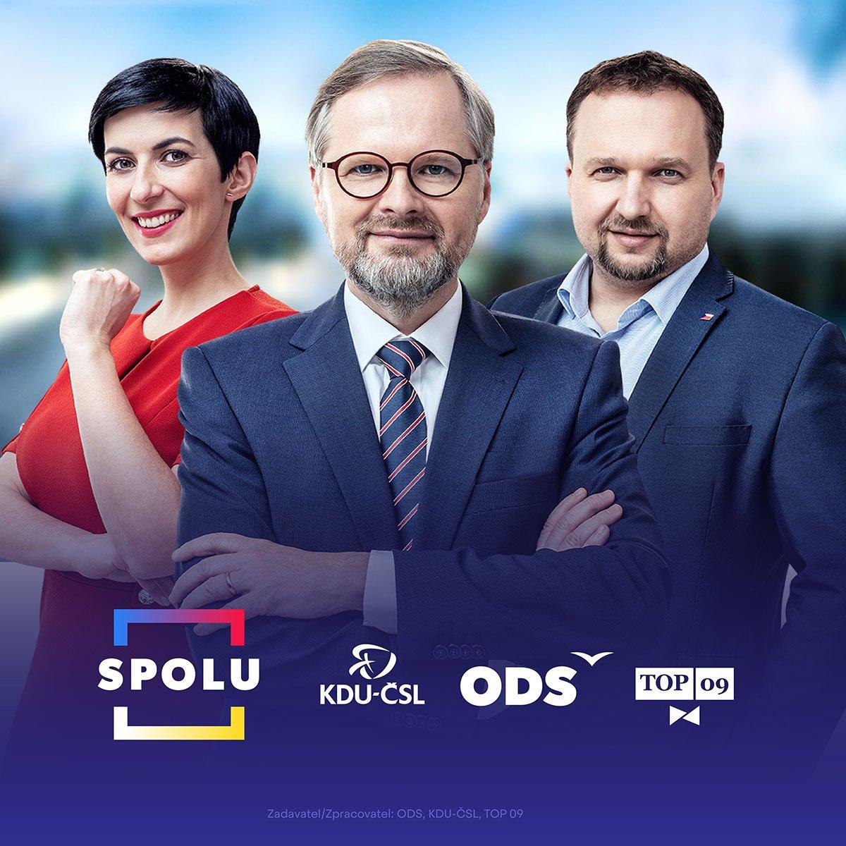 SPOLU dáme Česko dohromady. Lídři koalice SPOLU podepsali koaliční smlouvu – ODS – Občanská demokratická strana