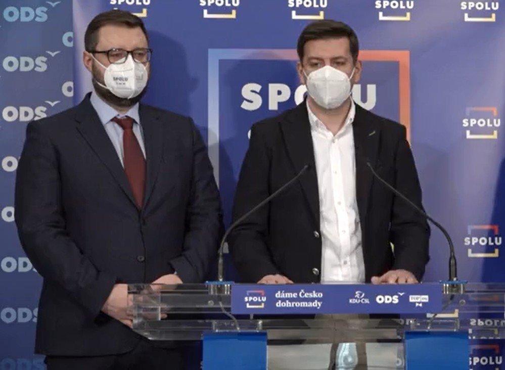 SPOLU: Ministr zdravotnictví opět zpochybňuje otevření obchodů od 3. května