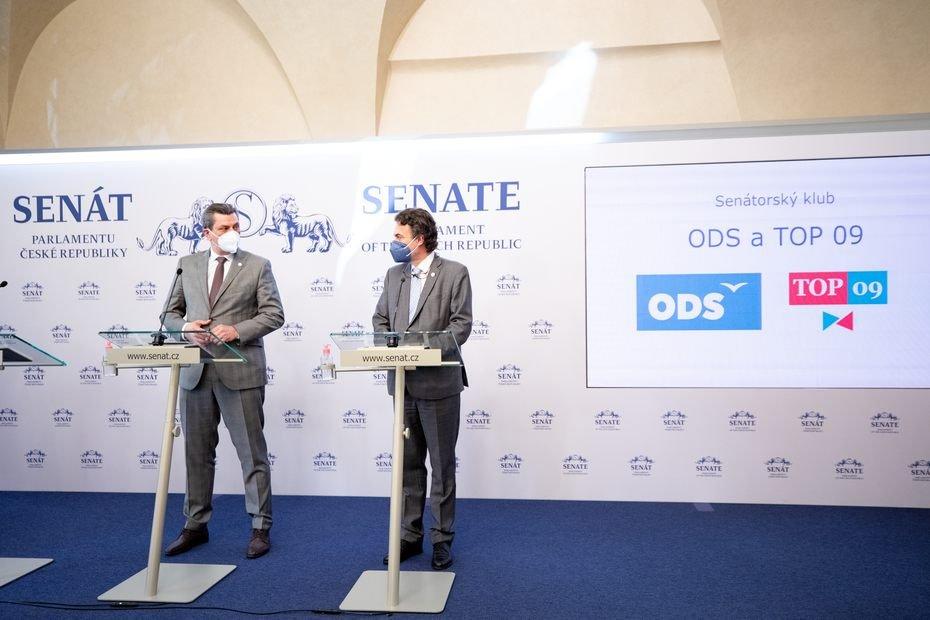 Senátorský klub ODS a TOP 09: Schválili jsme volební zákon