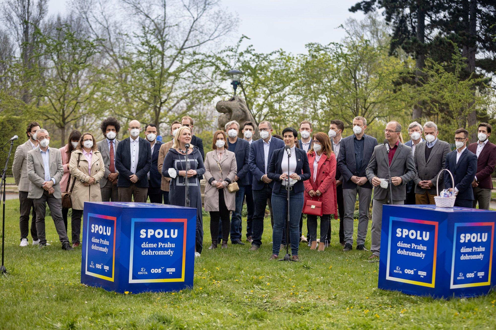SPOLU restartujeme podnikání v Praze, hlásí pražští lídři koalice SPOLU