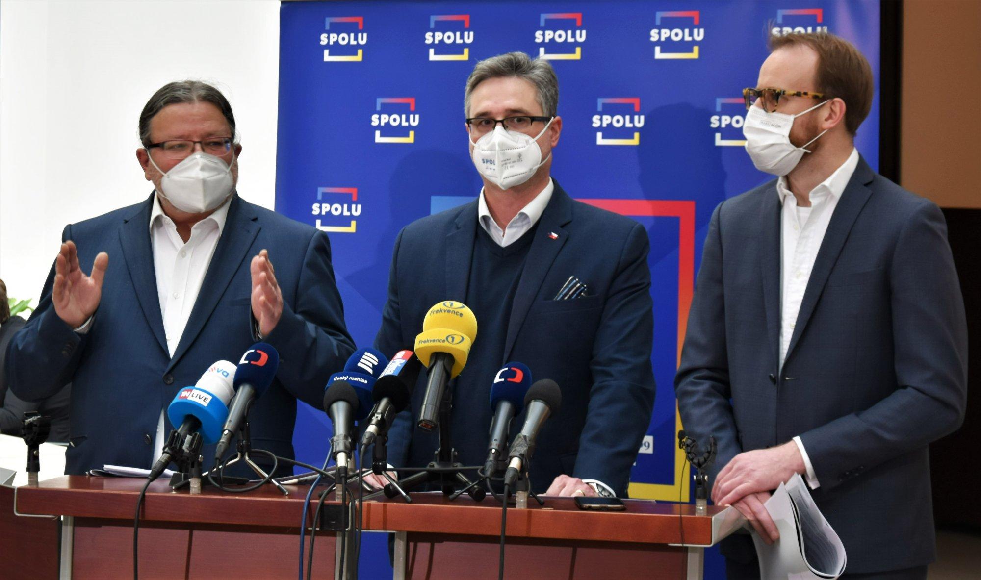 Back to the Future. Koalice SPOLU představila plány pro evropské předsednictví