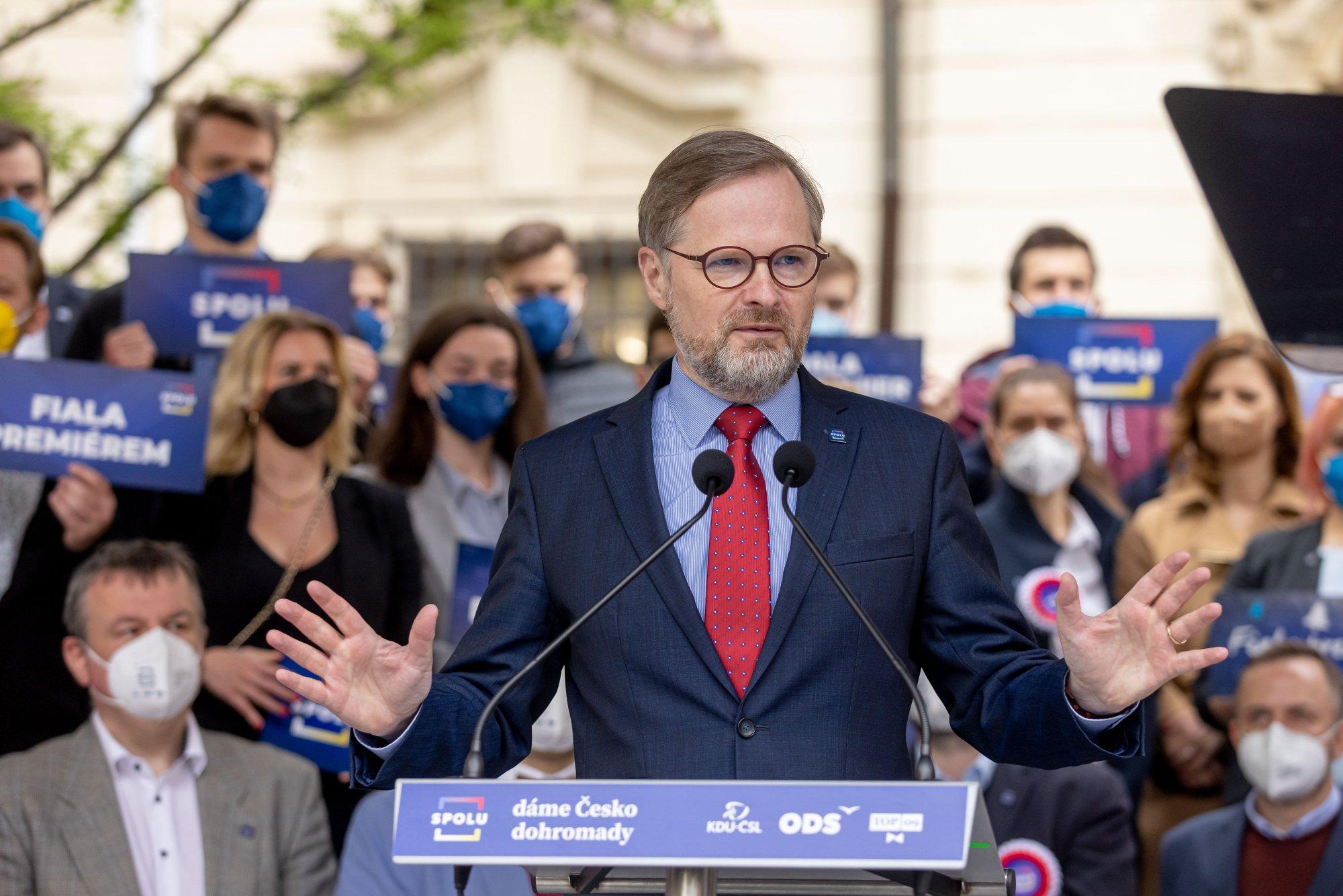 Petr Fiala: Projev k zahájení kampaně koalice SPOLU