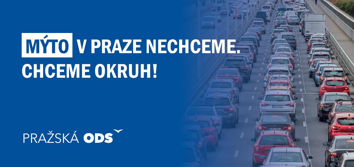 Pražská ODS: Plán Pirátů a koalice na mýto v Praze bude ještě větší noční můrou, než kdokoli myslel