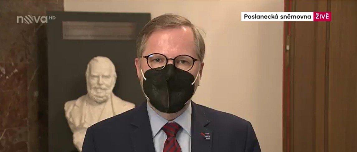 Petr Fiala: Televizní noviny: Nedůvěra vládě