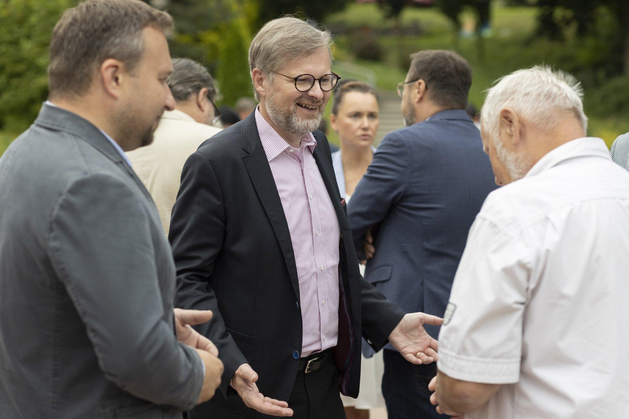 Petr Fiala: Karel je ideální kombinací politika. Přemýšlí a zároveň umí být praktik