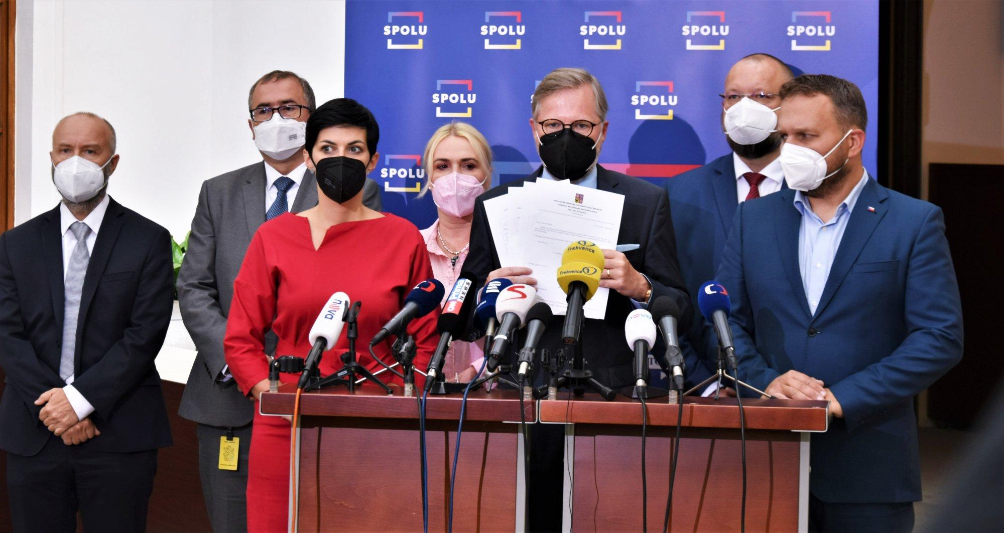 SPOLU: Pokud premiér nenavrhne pokračování Michala Koudelky v čele BIS, chceme situaci odblokovat mimořádnou schůzí