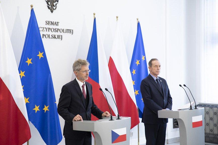Miloš Vystrčil v Polsku jednal s politickými špičkami, ve Štětíně otevře honorární konzulát