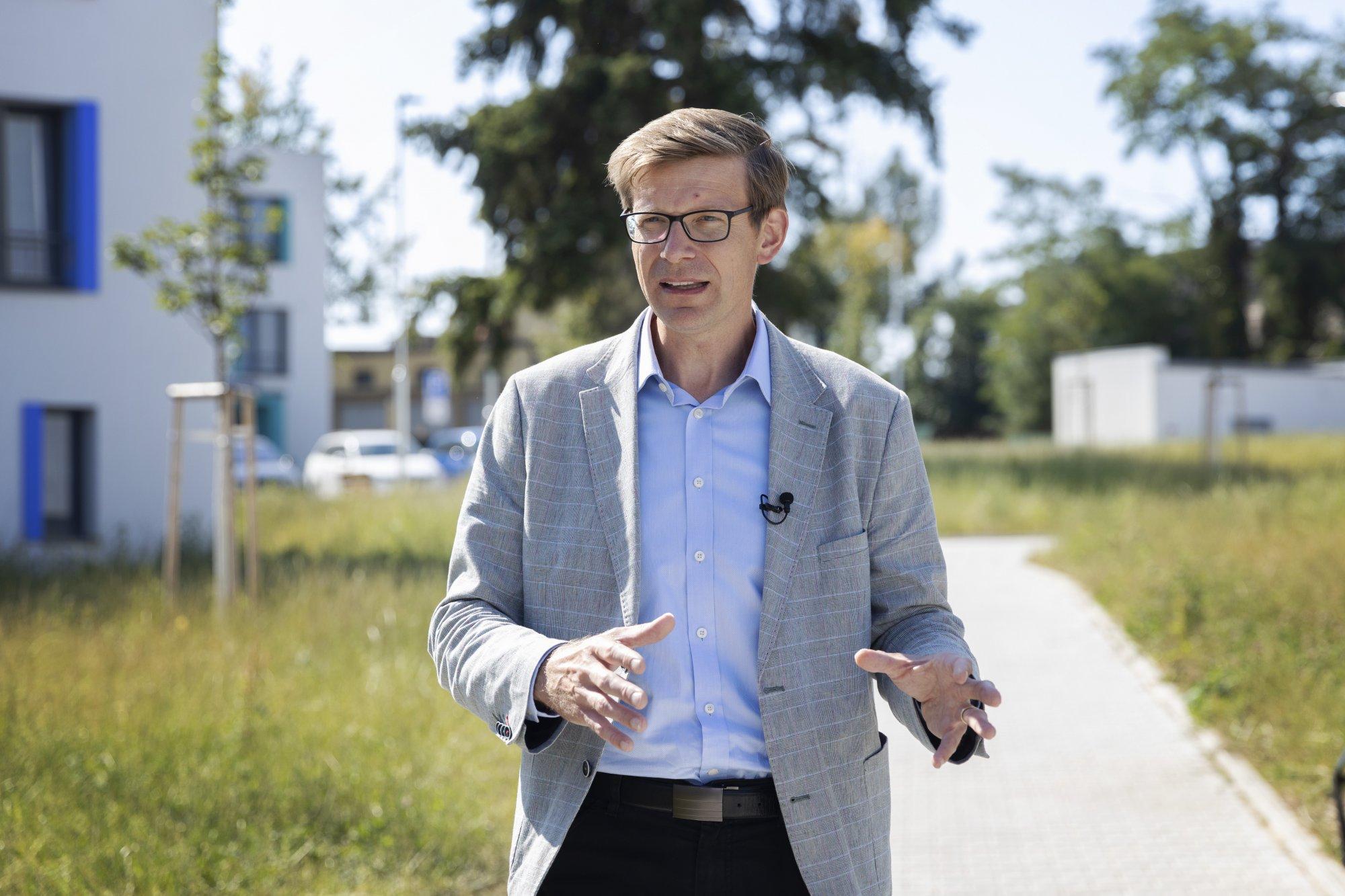 SPOLU chce stavět 40 tisíc bytů ročně. Dokonalým příkladem je projekt Zátiší v Plzni